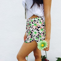 Ellis Sun Flower Shorts