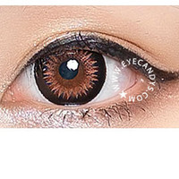 GEO Bella (XTRA) Brown Color Circle Contact Lens | EyeCandy's