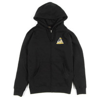 Benny Gold - Spacelab Black Zip-Up Hoodie