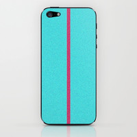 Re-Created Interference ONE No. 27 iPhone & iPod Skin by Robert S. Lee