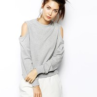 Cheap Monday Open Shoulder Sweatshirt