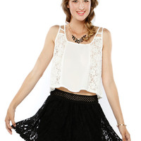 Papaya Clothing Online :: STYLISH CROP TOP