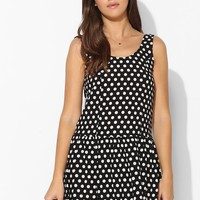 Coincidence & Chance Polka Dot Drop-Waist Dress - Urban Outfitters
