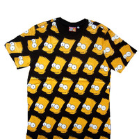 Bart The Simpsons T-shirt Men Size M L TShirt Homer Shirt