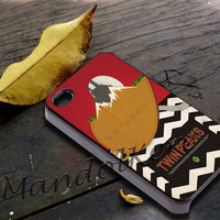 Welcome to twin peaks 3 Cover - iPhone 4 4S iPhone 5 5S 5C and Samsung Galaxy S3 S4 Case