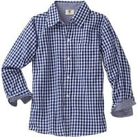Wes and Willy Boys 2-7 Gingham Dress Shirt