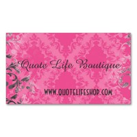 Vintage Boutique Store Business Cards