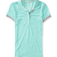 Marled Color Polo