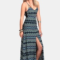 Ocean Tide Pools Maxi Dress