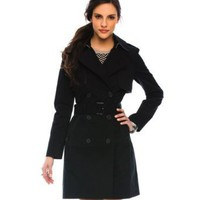 Armani Exchange Belted Trench