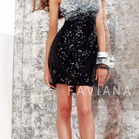 Faviana Glamour Dress S7005 - Cocktail Dresses - Dresses