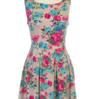 Bushels of Roses Dress