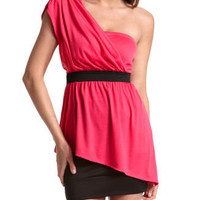 Charlotte Russe - Draped Empire-Waist Top