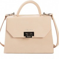 Venla Mini Bag - Nude Nubuck | NOT JUST A LABEL