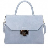 Venla Bag - Blue Nubuck | NOT JUST A LABEL
