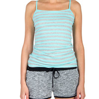 Striped Cami - Sky Blue