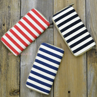Martha's Vineyard Striped Wallets