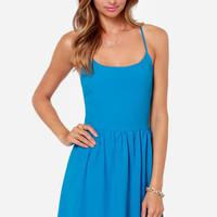 Cute or Dare Bright Blue Dress