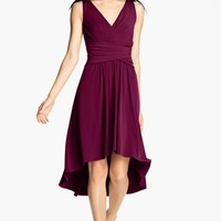 Ivy & Blu Pleated Front V-Neck Dress | Nordstrom