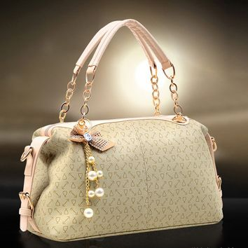 Retro Portable Shoulder Handbags