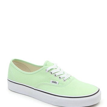 Vans Authentic Paradise Green Sneakers at PacSun.com