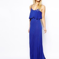 ASOS PETITE Maxi Dress with Crop Top