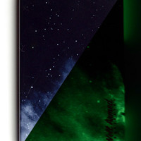 DARK GALAXY GLOW PRO iPhone 4/4S Snap Case