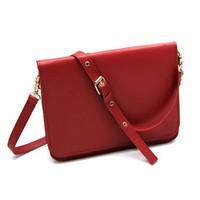 Simple Design Vintage Cross Body Shoulder Bag Clutch