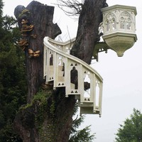 Gothic treehouse
