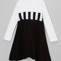 Black & White Dress - Infant, Toddler & Girls | something special every day