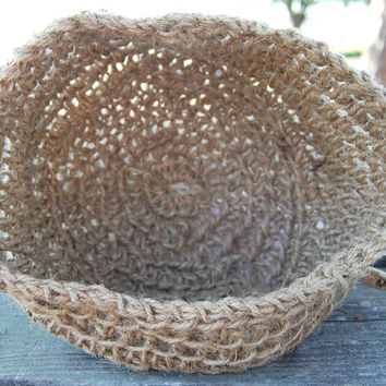 Natural Hemp Basket