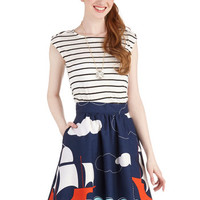 Dancing on Deck Skirt