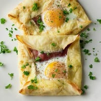 Framed Cooks: Ham and Egg Crepe Squares