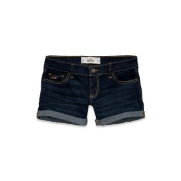Hollister Low Rise Midi Length Short-Shorts