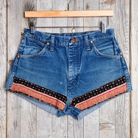 HYM Salvage X Urban Renewal Kantha Quilt Denim Short - Urban Outfitters
