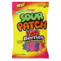Sour Patch Kids Berries Soft & Chewy Candy 7.2 oz