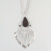 FULL TILT 3 Chain Teardrop Spoon Necklace 235765140 | Necklaces | Tillys.com