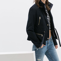 JACKET WITH ZIPS