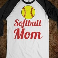 softball mom - glamfoxx.com - Skreened T-shirts, Organic Shirts, Hoodies, Kids Tees, Baby One-Pieces and Tote Bags