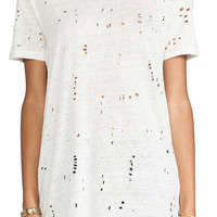 IRO Clay Tee Shirt in Ecru