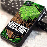 Minecraft Creeper Game Land customized for iphone 4/4s/5/5s/5c, samsung galaxy s3/s4, and ipod touch 4/5