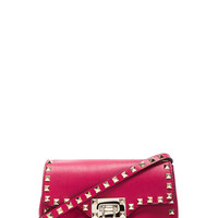 Rockstud Crossbody Bag in Cyclamin