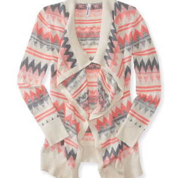 Zigzag Statement Cardigan