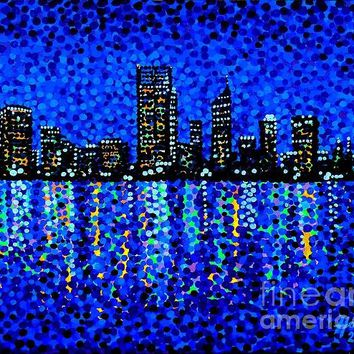 Perth Evening Blues - Print