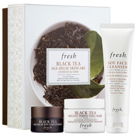 Sephora: Fresh : Black Tea Age-Delay Skincare Set : skin-care-sets-travel-value