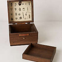Oak Jewelry Box