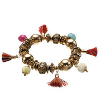 Cancan Stretch Bracelet | Gold | Accessorize
