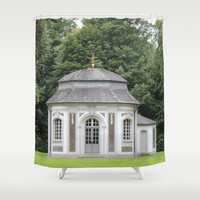 Chapel of Falkenlust Palace Shower Curtain by Christine aka stine1