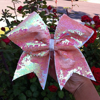 Reversible Sequin Cheer Bow