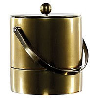 Elysian 24ct Gold Plated Ice Bucket with Tongs by Waterford